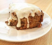 Lemon Frosted Carrot Cake